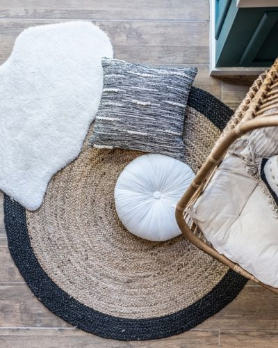 carpet cleaning Maroochydore - carpet and pillows from above